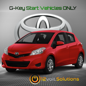 2011-2014 Toyota Yaris Plug & Play Remote Start Kit (G-Key)