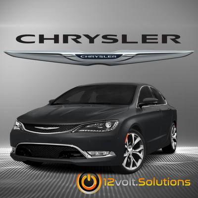 2011-2014 Chrysler 200 Plug & Play Remote Start Kit