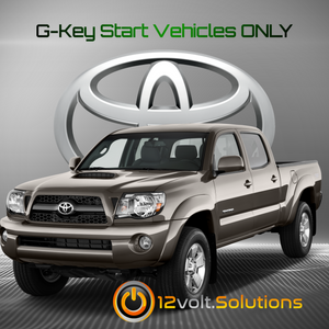2011-2015 Toyota Tacoma Plug & Play Remote Start Kit