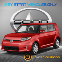 2011-2015 Scion XB Plug & Play Remote Start Kit (Key Start)