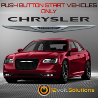 2011-2017 Chrysler 300/300c Plug & Play Remote Start Kit (Push Button Start)