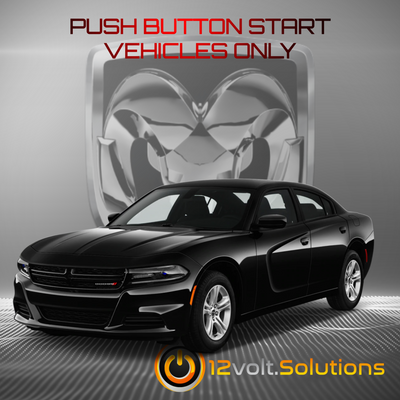 2011-2017 Dodge Charger Plug & Play Remote Start Kit (Push Button Start)