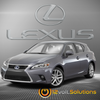 2011-2017 Lexus CT200h Plug & Play Remote Start Kit (Push Button Start)