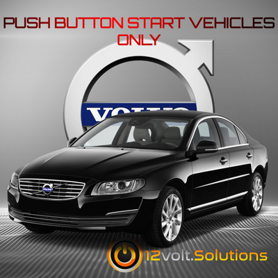 2011-2017 Volvo S80 Remote Start Kit