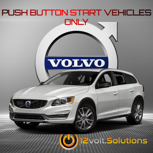 2011-2017 Volvo V60 Remote Start Kit