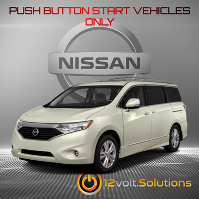 2011-2017 Nissan Quest Remote Start Plug and Play Kit (Push Button Start)
