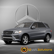 2012-2013 Mercedes Benz M-Class Plug & Play Remote Start Kit