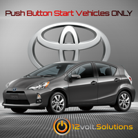 2012-2014 Toyota Prius C Plug & Play Remote Start Kit (Push Button Start)