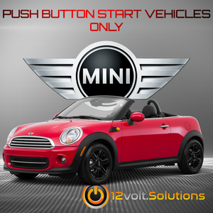 2012-2015 MINI Roadster Plug and Play Remote Start Kit (Push Button Start)