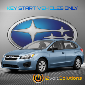 2012-2016 Subaru Impreza Plug & Play Remote Start Kit (Key Start)