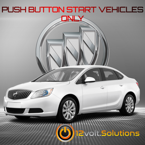 2012-2017 Buick Verano Plug & Play Remote Start Kit (Push Button Start)
