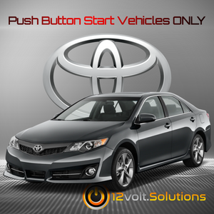 2012-2017 Toyota Camry Plug & Play Remote Start Kit (Push Button Start)
