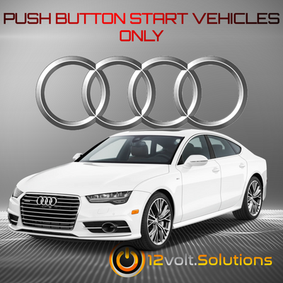 2012-2018 Audi A7 Plug and Play Remote Start Kit