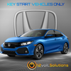 2012-2018 Honda Civic Plug & Play Remote Start Kit (standard key)