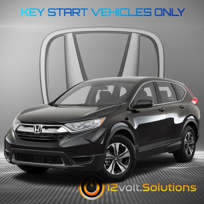 2012-2016 Honda CR-V Plug & Play Remote Start Kit (standard key)