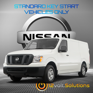 2012-2020 Nissan NV 1500/2500/3500 VAN Remote Start Plug and Play Kit (Standard Key)