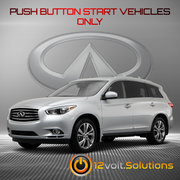 2013-2014 Infiniti JX35 Plug and Play Remote Start Kit (Push Button Start)