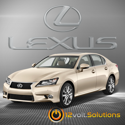 2013-2015 Lexus GS350 Plug & Play Remote Start Kit  (Push Button Start)