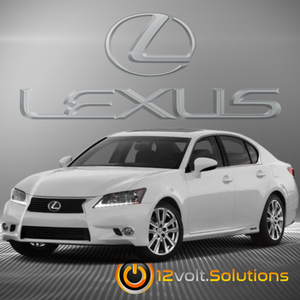 2013-2015 Lexus GS450h Plug & Play Remote Start Kit (Push Button Start)