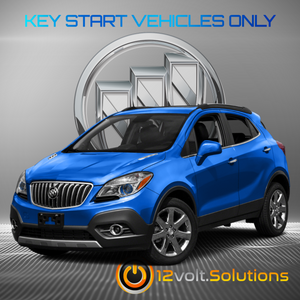 2013-2016 Buick Encore Plug & Play Remote Start Kit (Key Start)