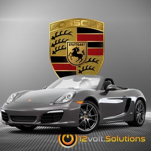 2013-2019 Porsche Boxster Plug and Play Remote Start Kit