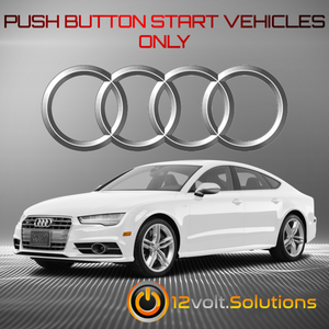 2013-2018 Audi S7 Plug and Play Remote Start Kit
