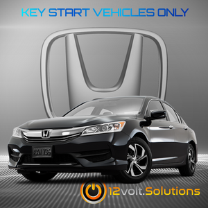 2013-2017 Honda Accord Plug & Play Remote Start Kit (standard key)