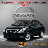 2013-2019 Nissan Versa Remote Start Plug and Play Kit (Push Button Start)