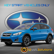 2013-2017 Subaru Crosstrek Plug & Play Remote Start Kit (Key Start)