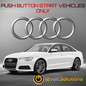 2013-2018 Audi S6 Plug and Play Remote Start Kit