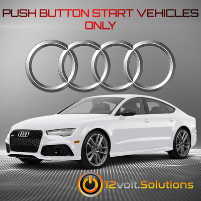 2013-2018 Audi S8 Plug and Play Remote Start Kit