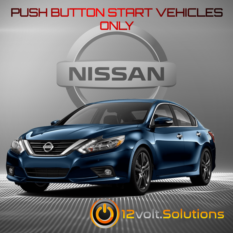 [XOTG_4463]  2013-2018 Nissan Altima Remote Start PLUG and PLAY Kit (Push Button Start)  | 12Volt.Solutions | 2013 Altima Remote Start Wiring Diagram |  | 12Volt.Solutions