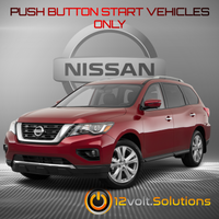 2013-2020 Nissan Pathfinder Remote Start Plug and Play Kit (Push Button Start)