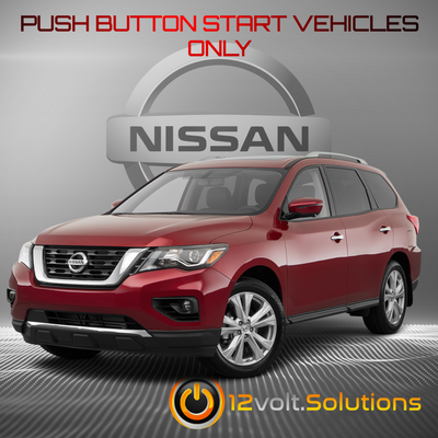 2013-2018 Nissan Pathfinder Remote Start Plug and Play Kit (Push Button Start)