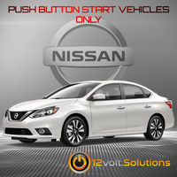 2013-2019 Nissan Sentra Remote Start Plug and Play Kit (Push Button Start)