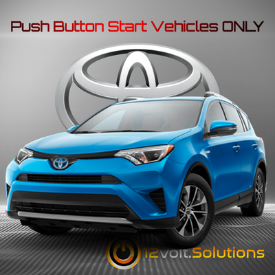 2013-2018 Toyota Rav4 Plug & Play Remote Start Kit (Push Button Start)