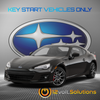 2013-2019 Subaru BRZ Plug and Play Remote Start Kit (Key Start)