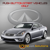 2014-2015 Infiniti Q60 Remote Start Plug and Play Kit (Push Button Start)