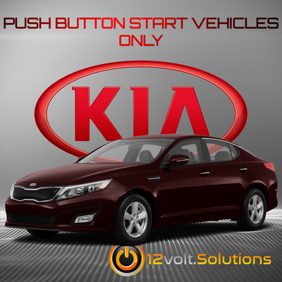 2014-2015 Kia Optima Remote Start Plug and Play Kit (Push Button Start)