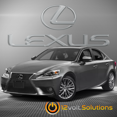 2014-2015 Lexus IS250 Plug Play Remote Start Kit (Push Button Start)