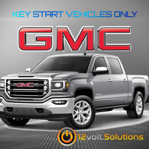 2014-2016 GMC Sierra 1500 Plug & Play Remote Start Kit (Key Start)