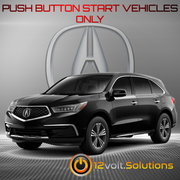 2014-2017 Acura MDX Plug & Play Remote Start Kit (Push Button Start)