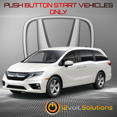 2014-2017 Honda Odyssey Plug & Play Remote Start Kit (Push Button Start)