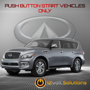 2014-2019 Infiniti QX80 Remote Start Plug and Play Kit (Push Button Start)