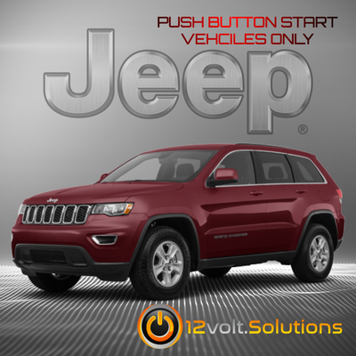 2014-2017 Jeep Grand Cherokee Plug & Play Remote Start Kit (Push Button Start)