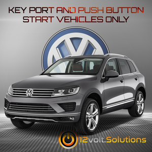 2014-2017 Volkswagen Touareg Plug and Play Remote Start Kit