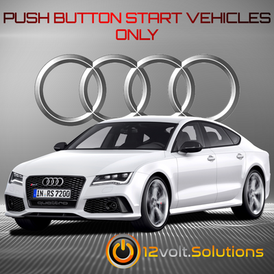 2014-2018 Audi RS7 Plug and Play Remote Start Kit