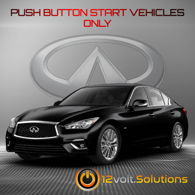 2014-2018 Infiniti Q50 Remote Start Plug and Play Kit (Push Button Start)