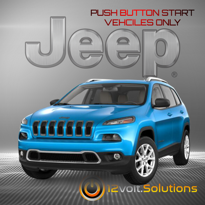 2019 Jeep Cherokee Plug & Play Remote Start Kit (Push Button Start)