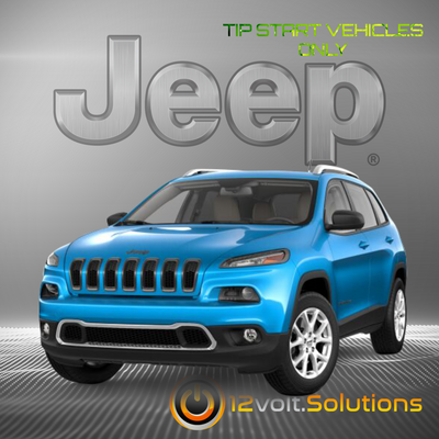 2019 Jeep Cherokee Plug & Play Remote Start Kit (Tip Start)